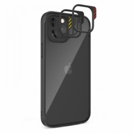 JTLEGEND iPhone 12 Pro Max 6.7 Hybrid Cushion DX Case – Black