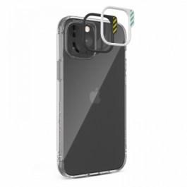 JTLEGEND iPhone 12 Pro Max 6.7 Hybrid Cushion DX Case – Crystal