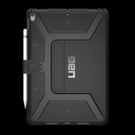 iPad Pro 10.5 Metropolis Case-Black/Silver Logo/Black-Visual Packaging