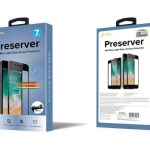 Preserver Anti-BlueLight Glass Screen Protector (0.26 mm , White) for iPhone 8 Plus