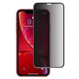 Preserver Privacy Glass Screen Protector (0.33mm, Black) for iPhone 11/XR