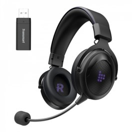Tronsmart Shadow 2.4GHz Wireless Gaming Headset – Purple/Black