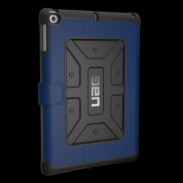 iPad (2017; 9.7 Screen) Metropolis Case-Cobalt/SilverLogo-Visual Packaging
