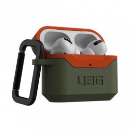 UAG AirPods Pro Hard Case V2 – Olive Drab/Orange