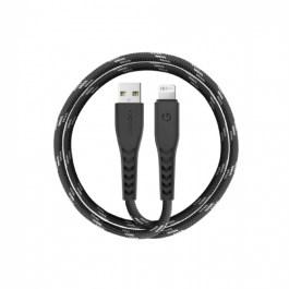 ENERGEA NYLOFLEX USB-A to Lightning C89 MFI 1.5M – BLACK