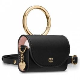 Spigen Ciel Case AirPods Pro Mini Bag – Classic Leather Black