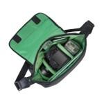 Green Mantis 7450 (PS) SLR Messenger Bag – Black