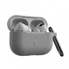 [U] Silicone Case Apple Airpods Pro  – Silver