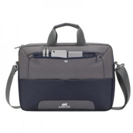 RIVACASE 7737 Steel Blue/Grey Laptop bag 15.6″