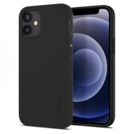Spigen iPhone 12 Mini 5.4 Thin Fit – Matte Black