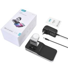 Choetech 4 in 1 Wireless Charging Dock MFI Apple