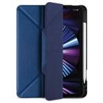 JTLEGEND AMOS iPad Pro 2021 – 11″ Amos QCAC Folio case with Pencil Holder – Navy Blue