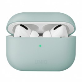 Uniq Lino Hybrid Liquid Silicon AirPods Pro Case – Mint Green