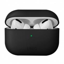 Uniq Lino Hybrid Liquid Silicon AirPods Pro Case – Ink Black