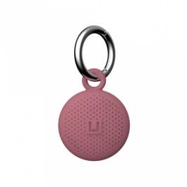 [ U ] Dot Keychain AirTag Case – Dusty Rose
