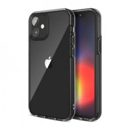 JTLEGEND iPhone 12/Pro 6.1 Hybrid Cushion Case – Crystal Black