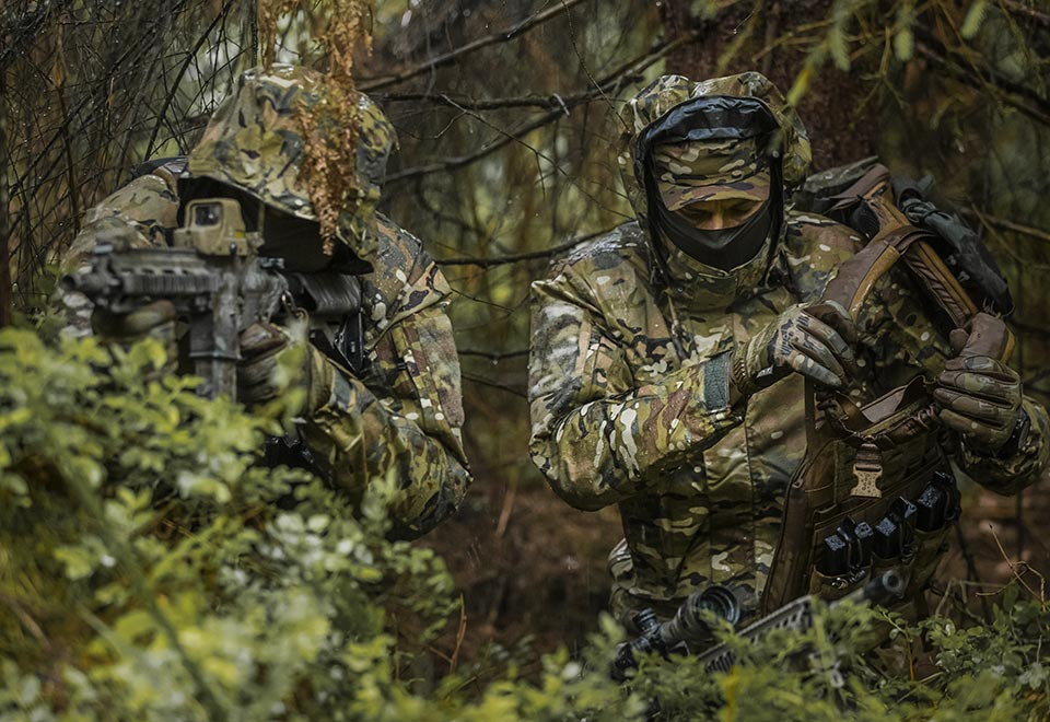 camouflage patterns tactical gear