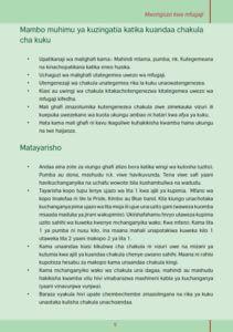 kutengeneza vyakula 009 211x300 - Utengenezaji wa vyakula vya kuku kuanzia vifaranga hadi wakubwa
