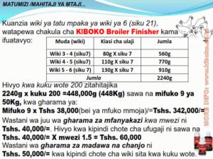 chicken management swahili 020 300x225 - Ufugaji wa kuku: Namna ya kuanza na mchanganuo wa mapato na matumizi