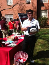 Biggest Prize: Georgia Football signed by Mark Richt