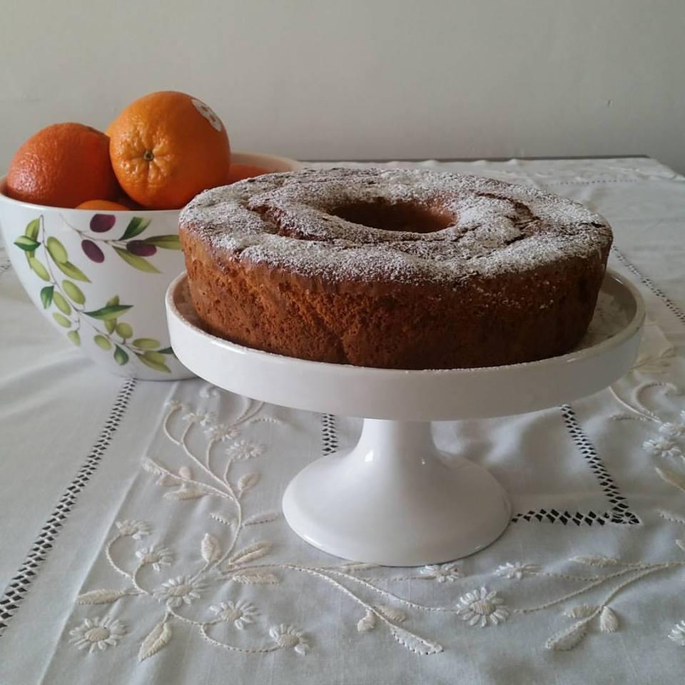 עוגת תפוז עם ריבת תפוזים