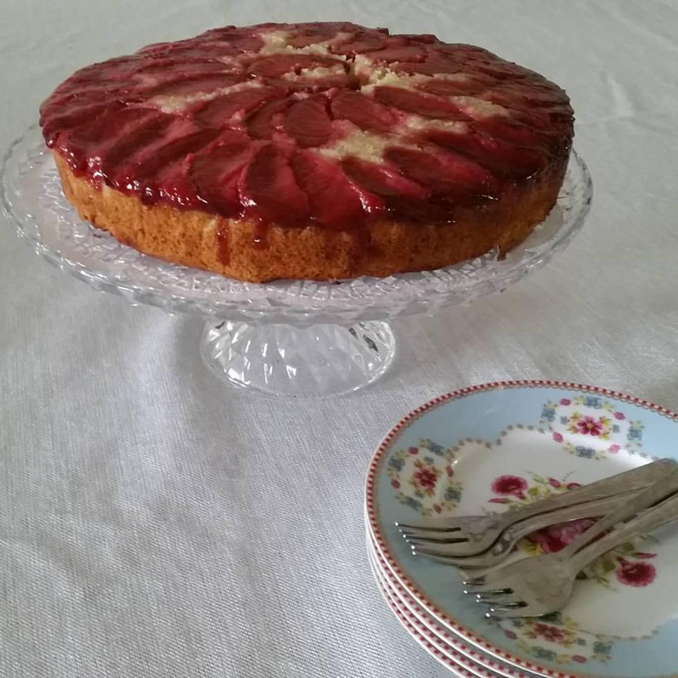 עוגת שזיפים10