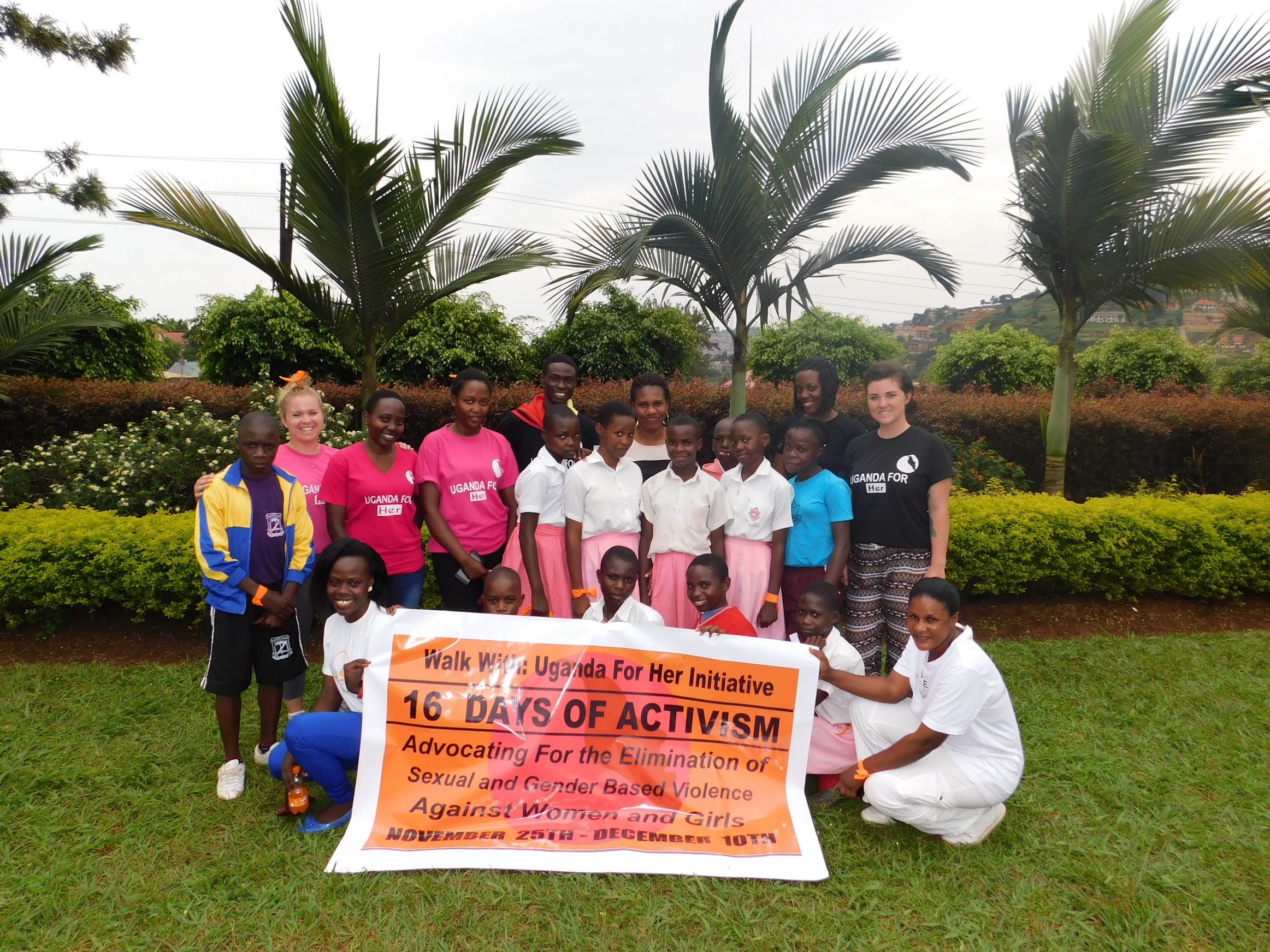 16 Days of Activism: Protest Walk Hosted by Uganda For Her