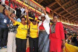 In support of Uganda Cranes