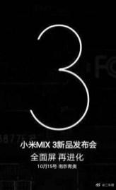 Xiaomi Mi MIX 3 Leak 1