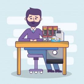 oficina-negocios-empleado-espacio-trabajo-dibujos-animados_24640-32906