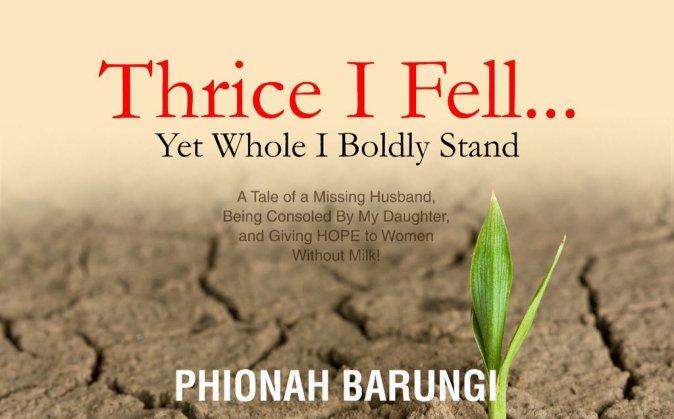 Thrice I Fell, Phionah Barungi's Book