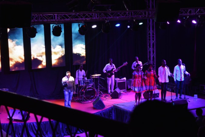 Brian Lubega Releases Wegukubira Album At Amazing Grace Concert