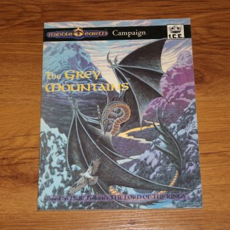 ugi games toys ice iron crown merp middle earth rpg book supplement the grey mountains campaign 3113 english
