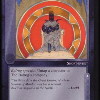 ugi games meccg the balrog angband revisited ICE Tolkien card