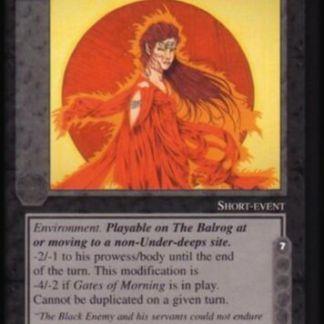 ugi games meccg the balrog glance arien ICE Tolkien card