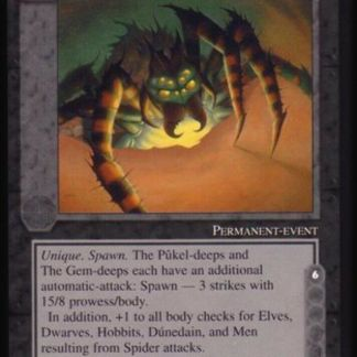 ugi games meccg the balrog spawn ungoliant ICE Tolkien card