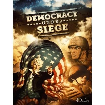 ugi games toys 4dados democracy under siege english board game strategy wargame