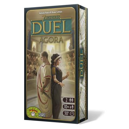 ugi games toys repos production 7 wonders duel juego mesa cartas expansion agora