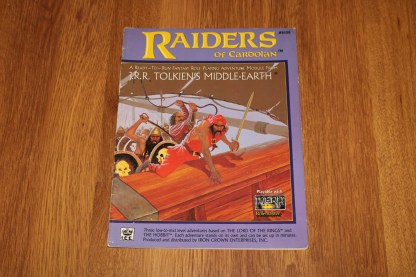 ugi games toys ice iron crown merp middle earth rpg book supplement raiders of cardolan 8108