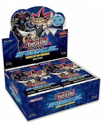 ugi games toys konami yugioh caja display sobres juego cartas desafios del reino