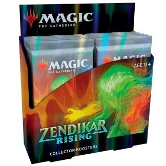 ugi games toys wizards of the coast mtg magic the gathering zendikar rising collector booster english card