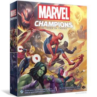ugi games toys fantasy flight marvel champions juego mesa cartas español