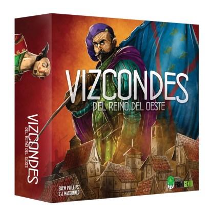 ugi games toys garphill primigenio vizcondes del reino del oeste juego mesa español