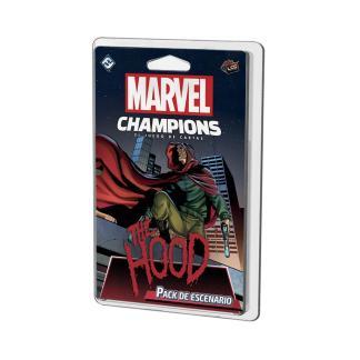 ugi games toys fantasy flight marvel champions lcg juego mesa cartas español pack escenario the hood