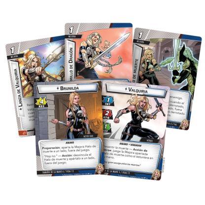 ugi games toys fantasy flight marvel champions juego mesa cartas español pack heroe valkyrie