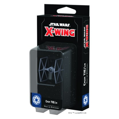 ugi games toys fantasy flight star wars x wing juego miniaturas español expansion caza tie ln