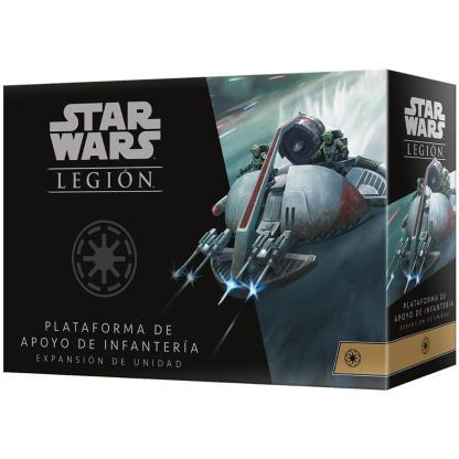 ugi games toys fantasy flight star wars legion juego miniaturas unidad plataforma apoyo infanteria