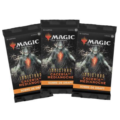 ugi games toys wizards coast mtg magic innistrad caceria medianoche sobre cartas español