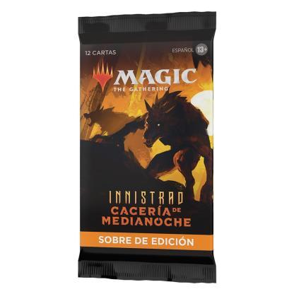 ugi games toys wizards coast mtg magic innistrad caceria medianoche sobre edicion cartas español