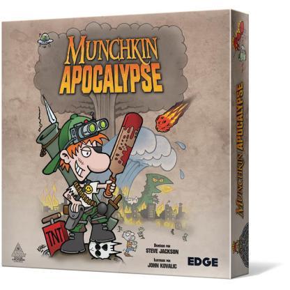 ugi games toys edge steve jackson munchkin apocalypse juego cartas español